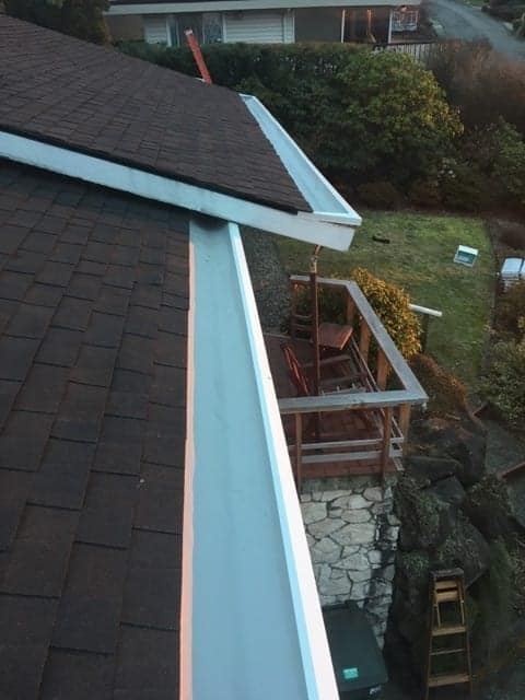 Bellevue Composite roof Replacement lower