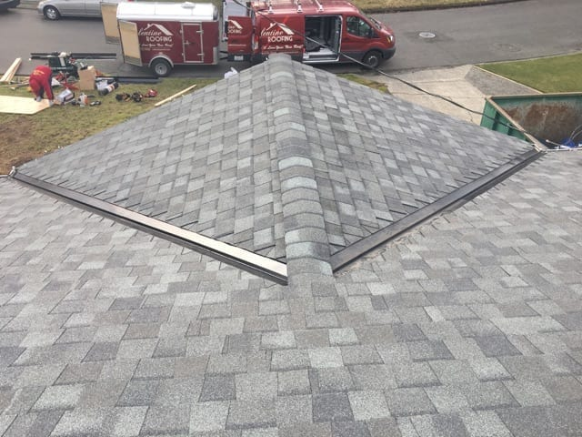 Kent WA Composite Roof Replacement
