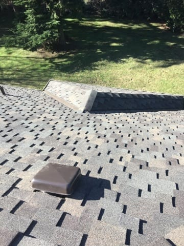 woodinville roof replacement from top