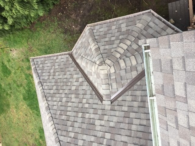 composite roof install
