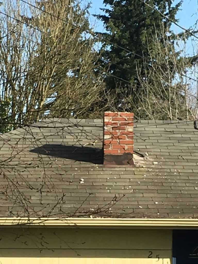 Chimney Removal In Everett Valentine Roofing