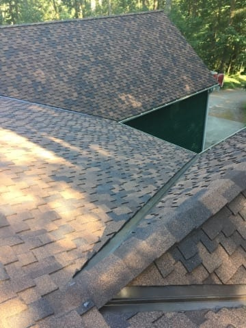 North Bend Composite Roof replaced