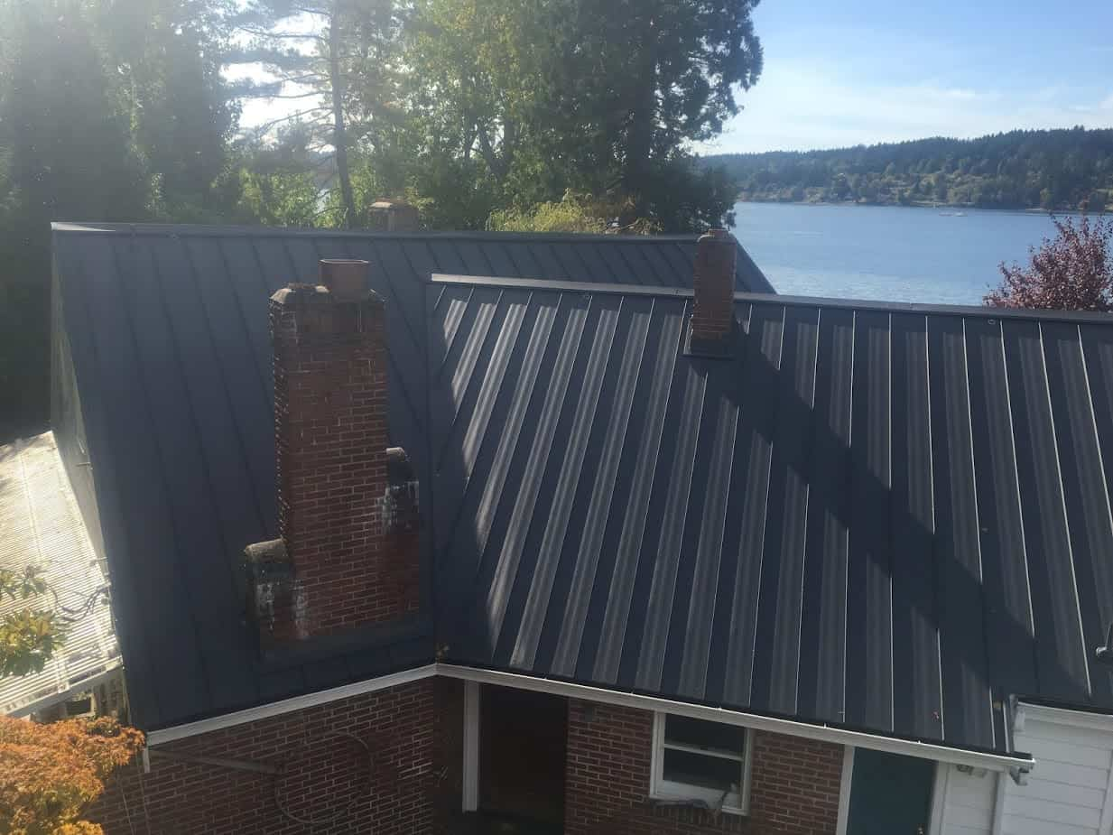Kitsap County Metal Roof Valentine Roofing