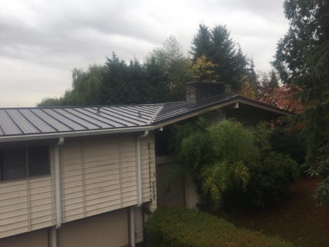 Metal Roof In Redmond Valentine Roofing