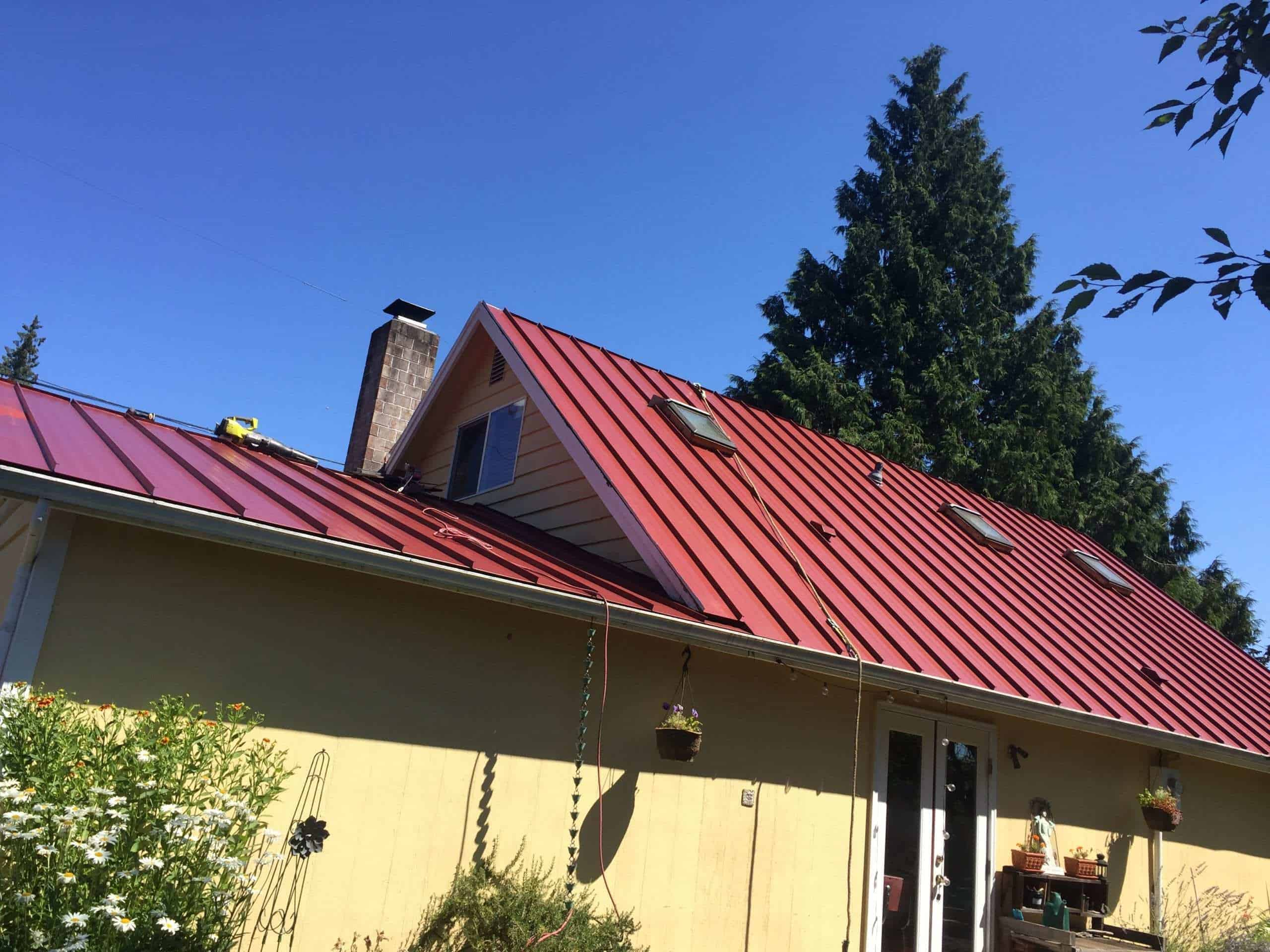 """Featured image for """"Metal Roof in Mountlake Terrace"""""""