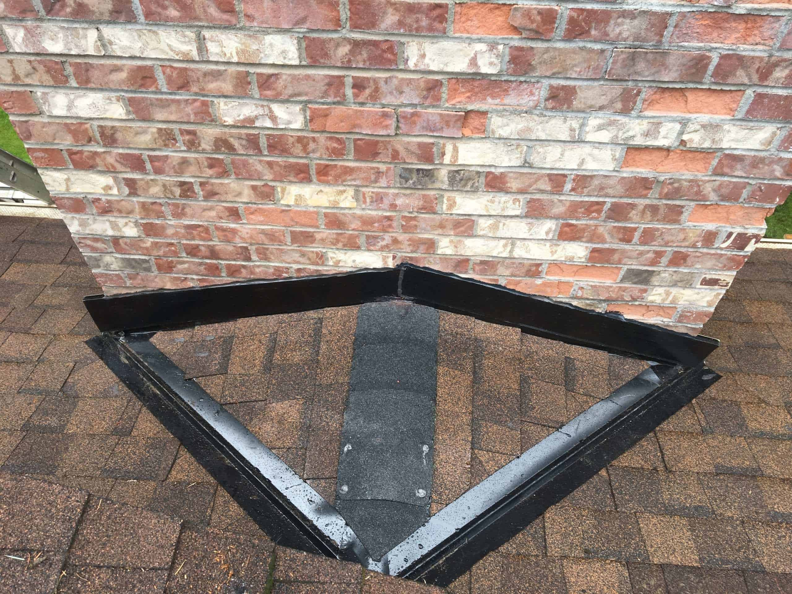 """Featured image for """"Fall Roofing Projects- Chimney Flashing Repair"""""""