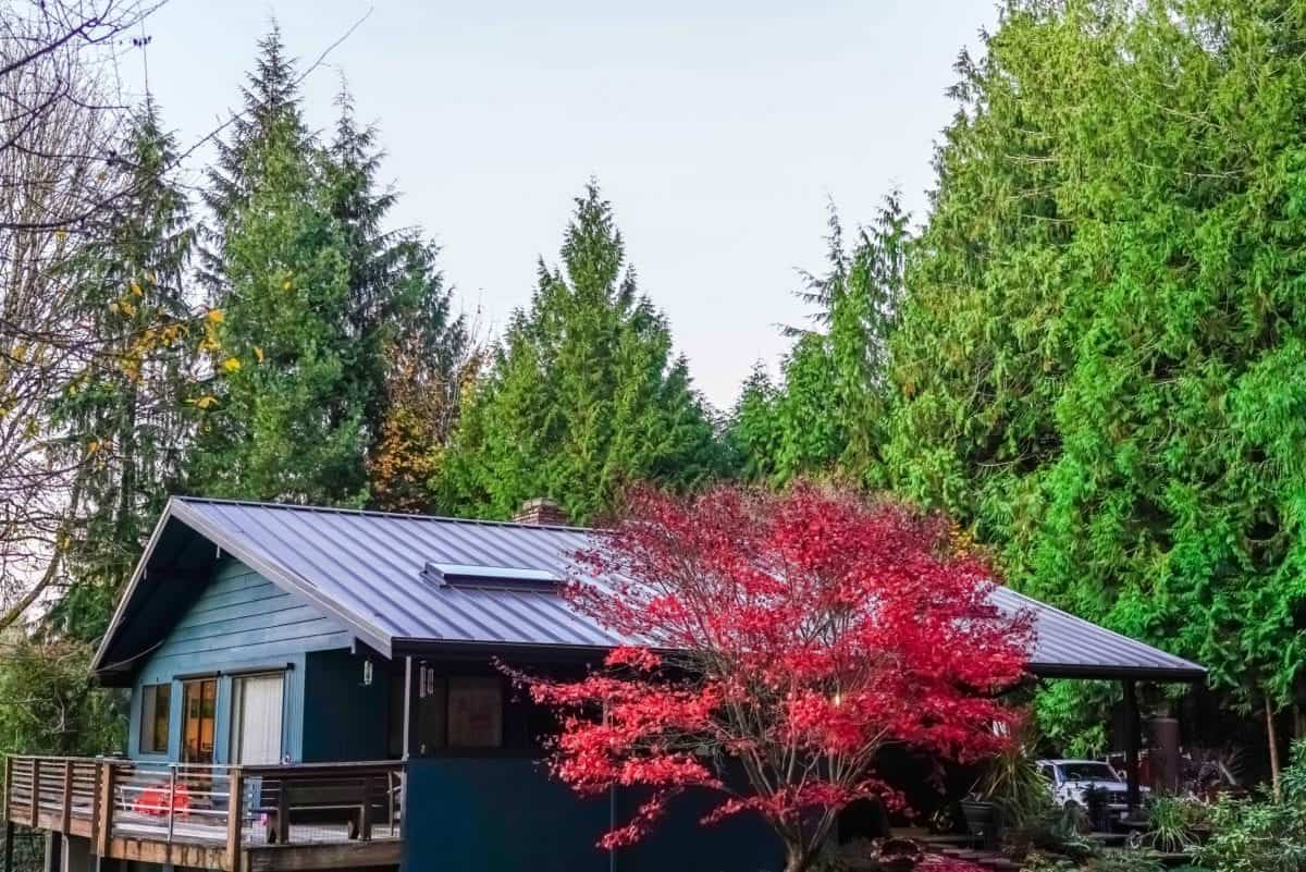 Nu-Ray Panel Metal Roofing System Installed by Valentine Roofing