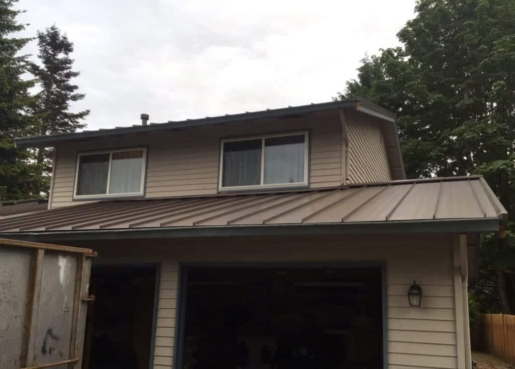 New Metal Roofing project in Renton