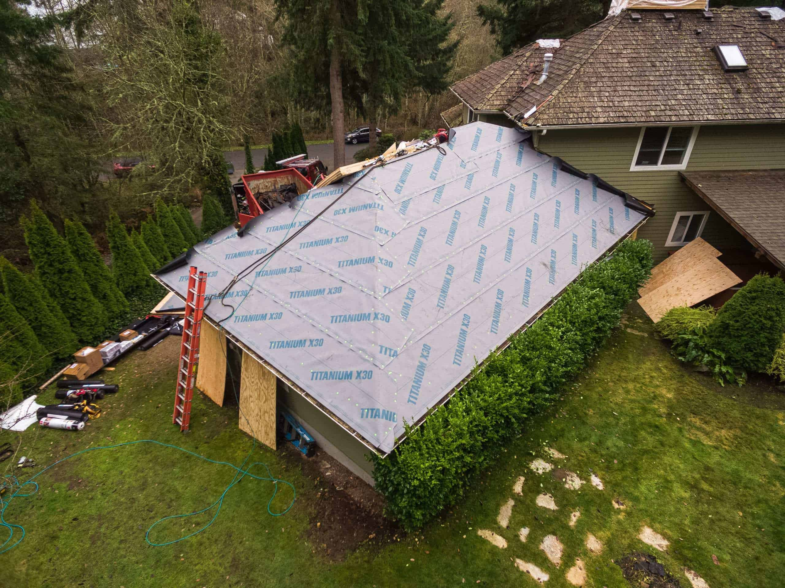 """Featured image for """"Titanium X-30: Underlayment Made for the Pacific Northwest"""""""