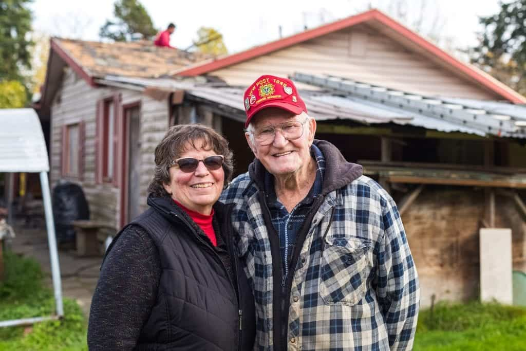 Peace of Mind Program: A New Roof for Korean War Veteran Floyd Duncan in Lynwood, WA by Valentine Roofing