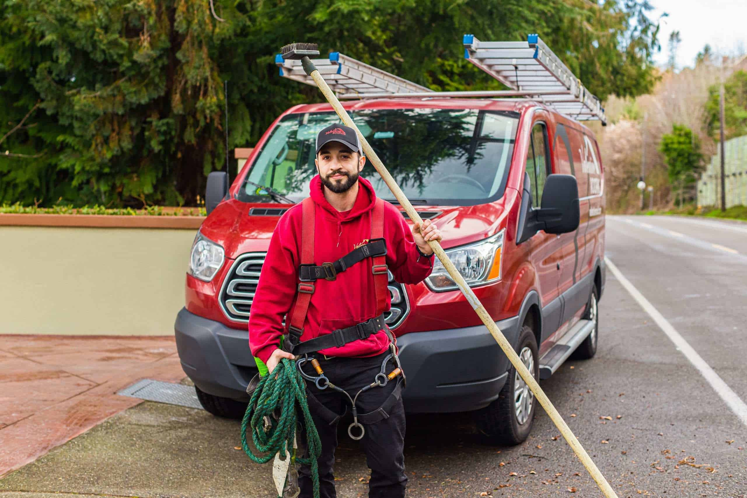 """Featured image for """"Hey it's Spring! Here's How to Extend the Life of Your Roof With an Annual Roof Cleaning"""""""