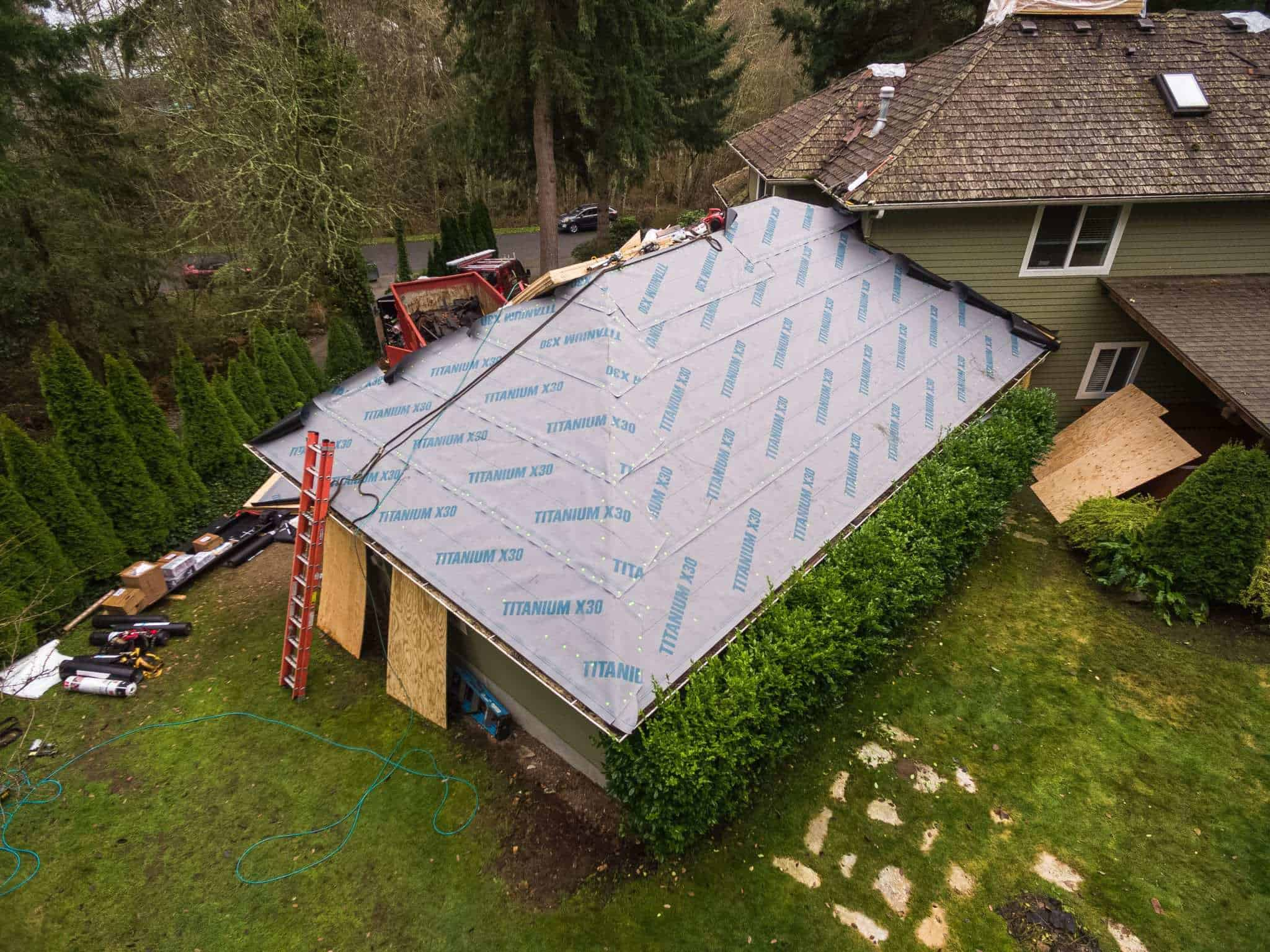 Titanium X30 underlayment Valentine Roofing and Owens Corning Collaboration Seattle, Washington - Local Residential Roofing Contractor