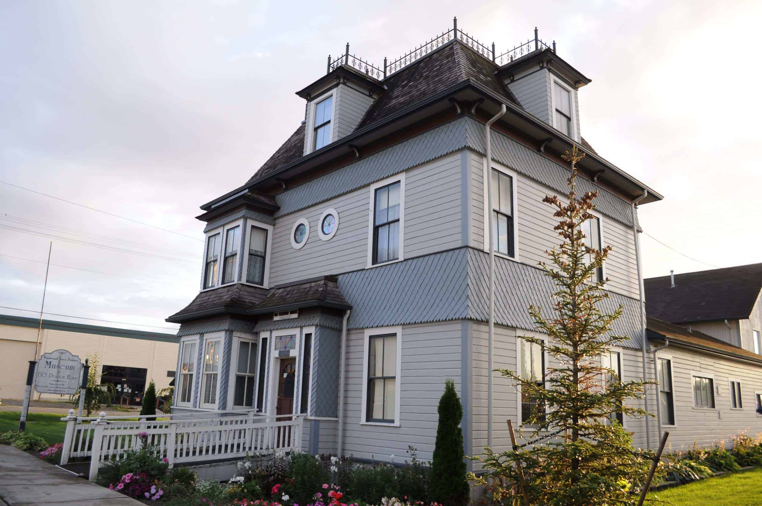 Victorian style home museum open to public