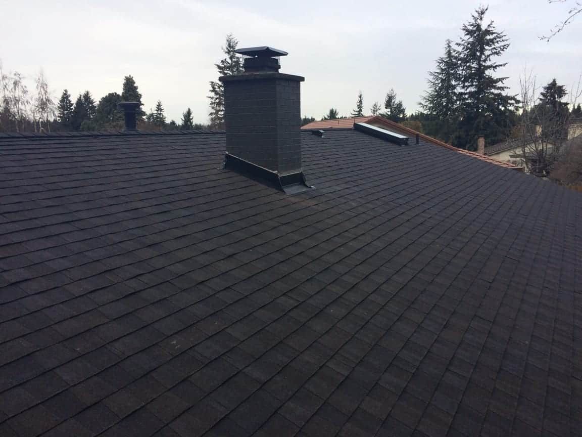 PVC installed on the flat roof in Federal Way