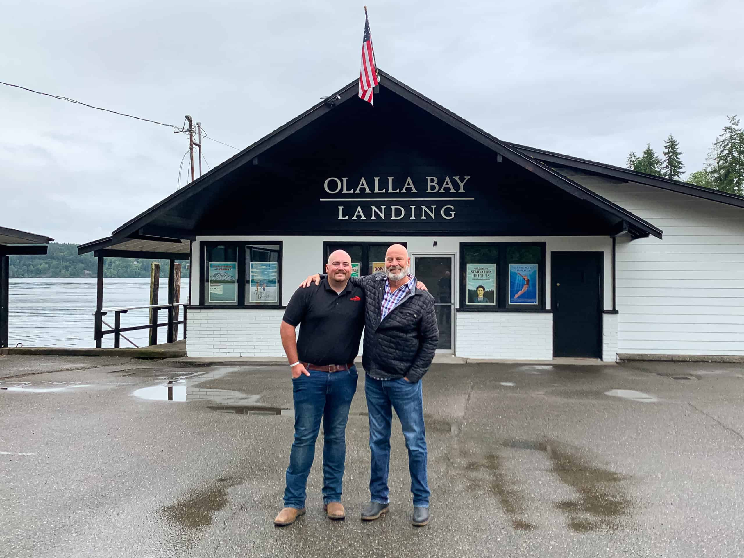 """Featured image for """"Honoring the Spirit of Small Town Olalla, WA through the Gift of New Roof for Revival of Community Space"""""""